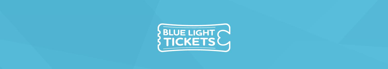 Blue Light Tickets Header