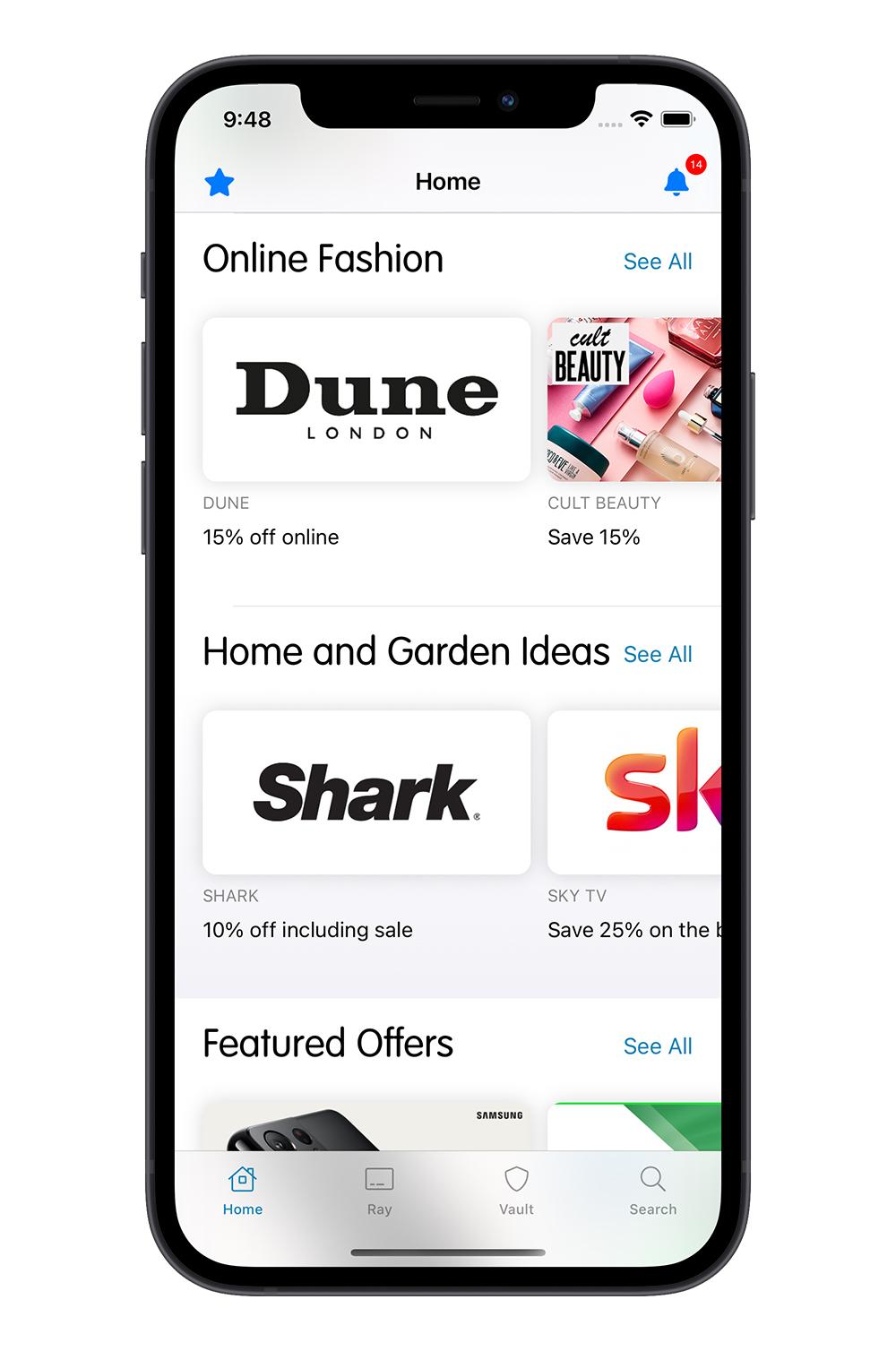Blue Light Card free iPhone mobile app