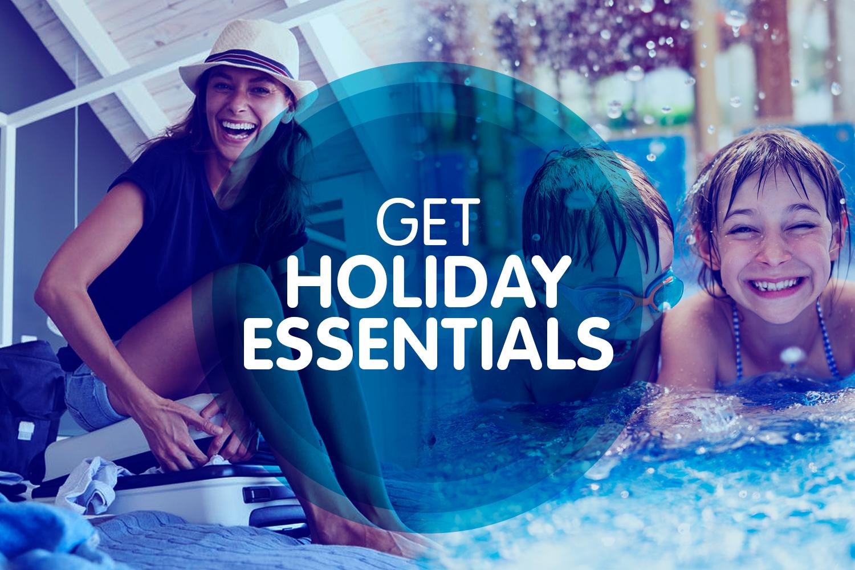 Get holiday essentials...