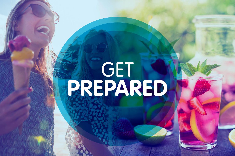 Get prepared...