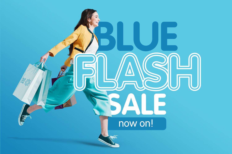 Blue Flash Sale now on!
