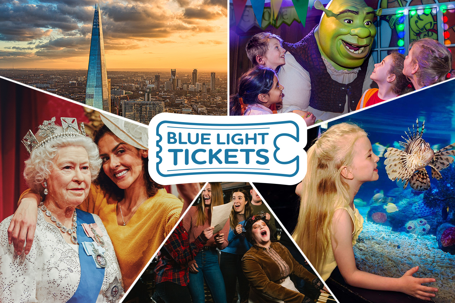 Exclusive free entry at London attractions with Blue Light Tickets!