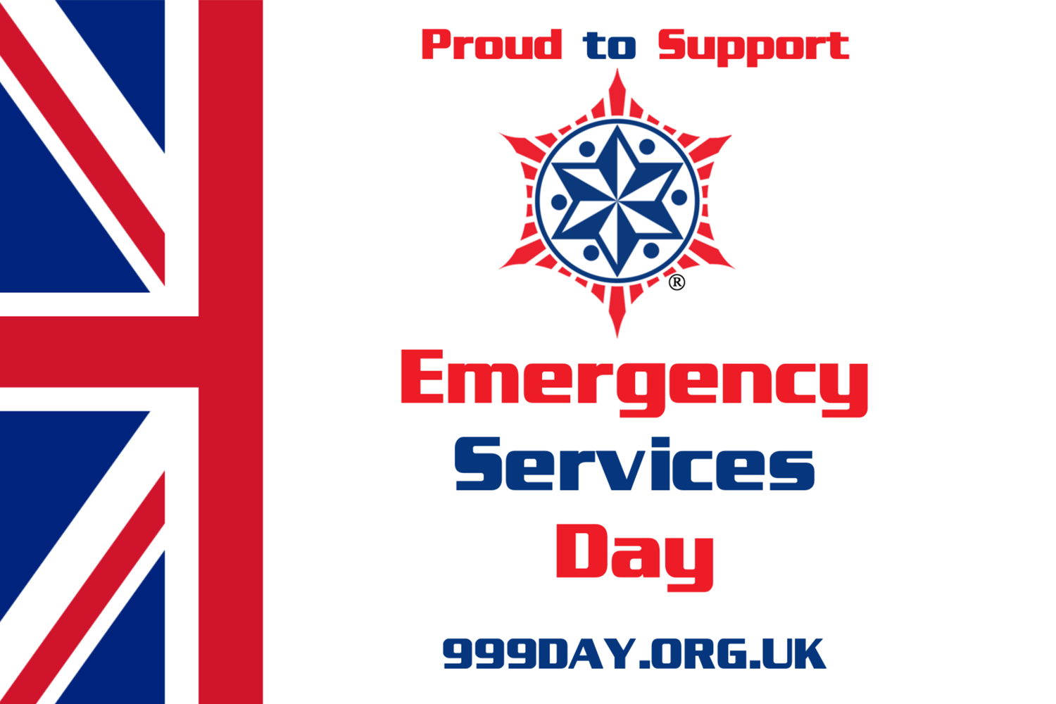 Saying thank you on Emergency Services Day