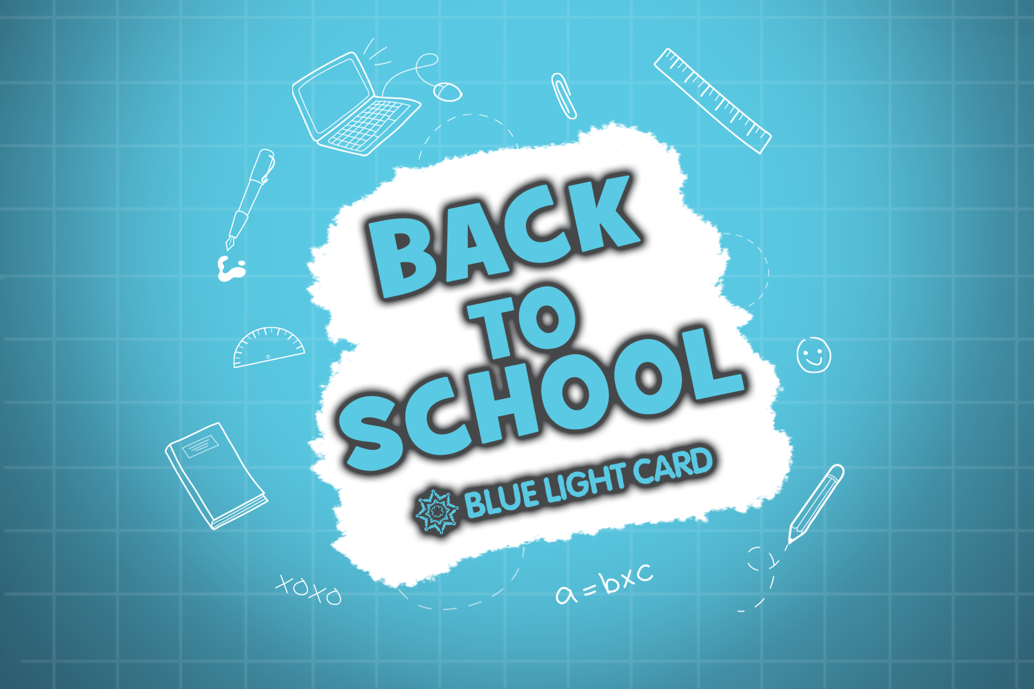 Get back-to-school ready with exclusive discounts!>
