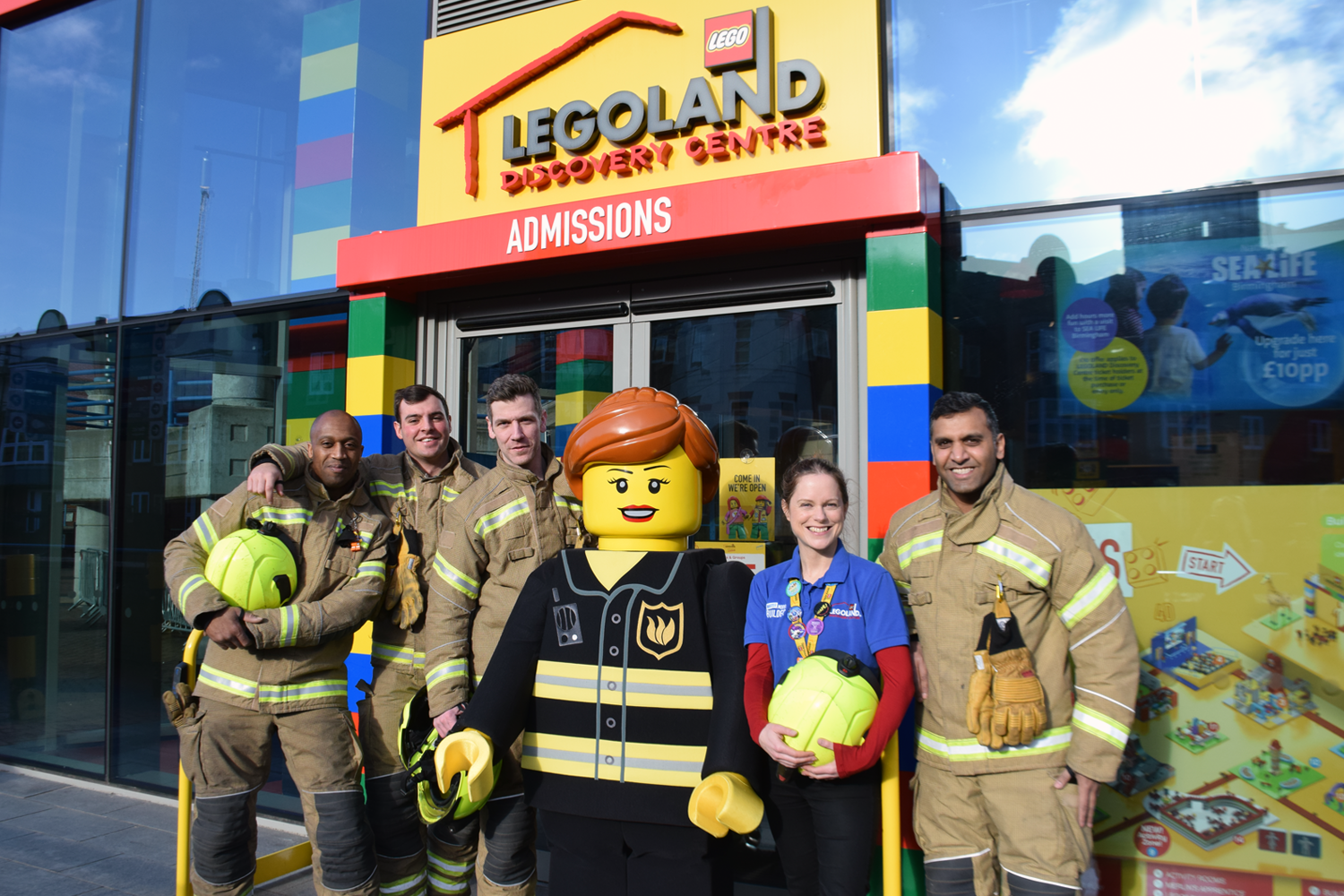 LDC Birmingham are offering free entry to Firefighters from 3rd Feb to 1st March!