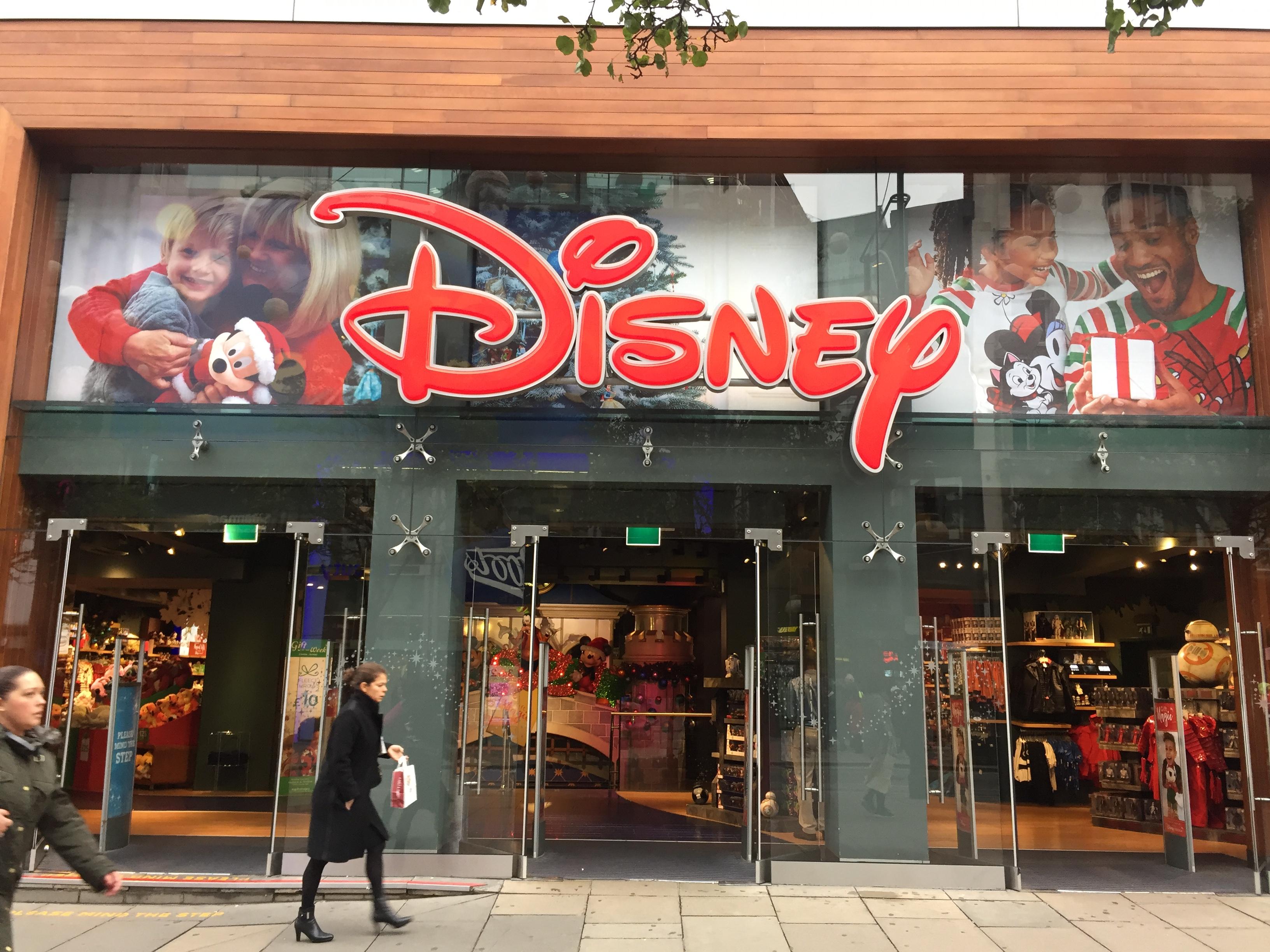 Disney Store now affiliates of BLC