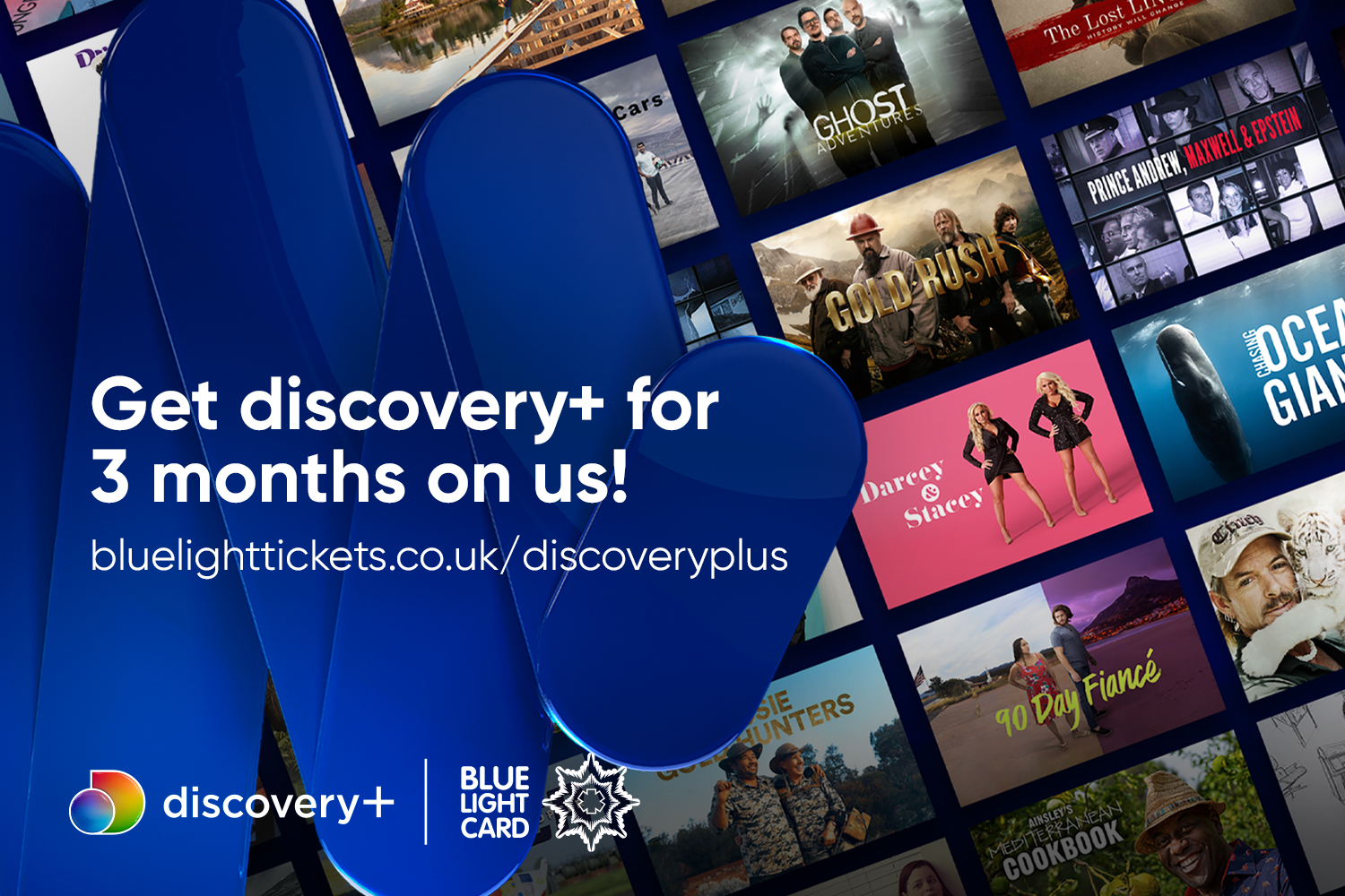 Discover discovery+