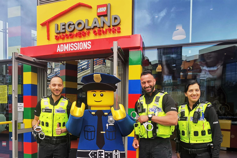 Police go Free at Legoland Discovery Centre Birmingham!