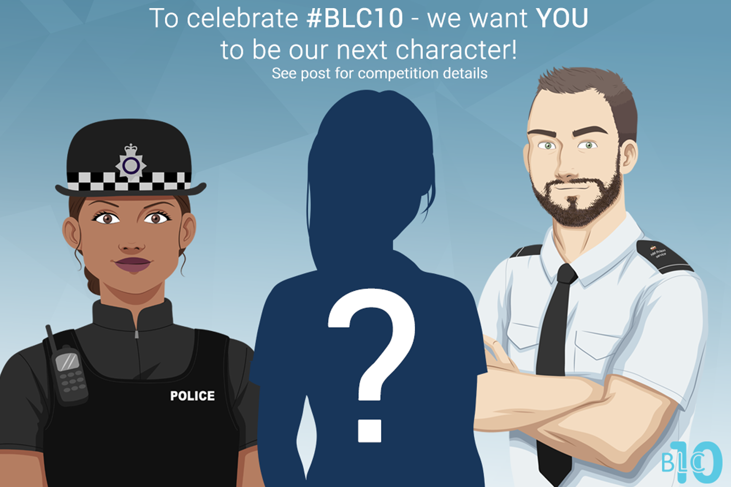 #BLC10 Competition - be the next BLC Character!
