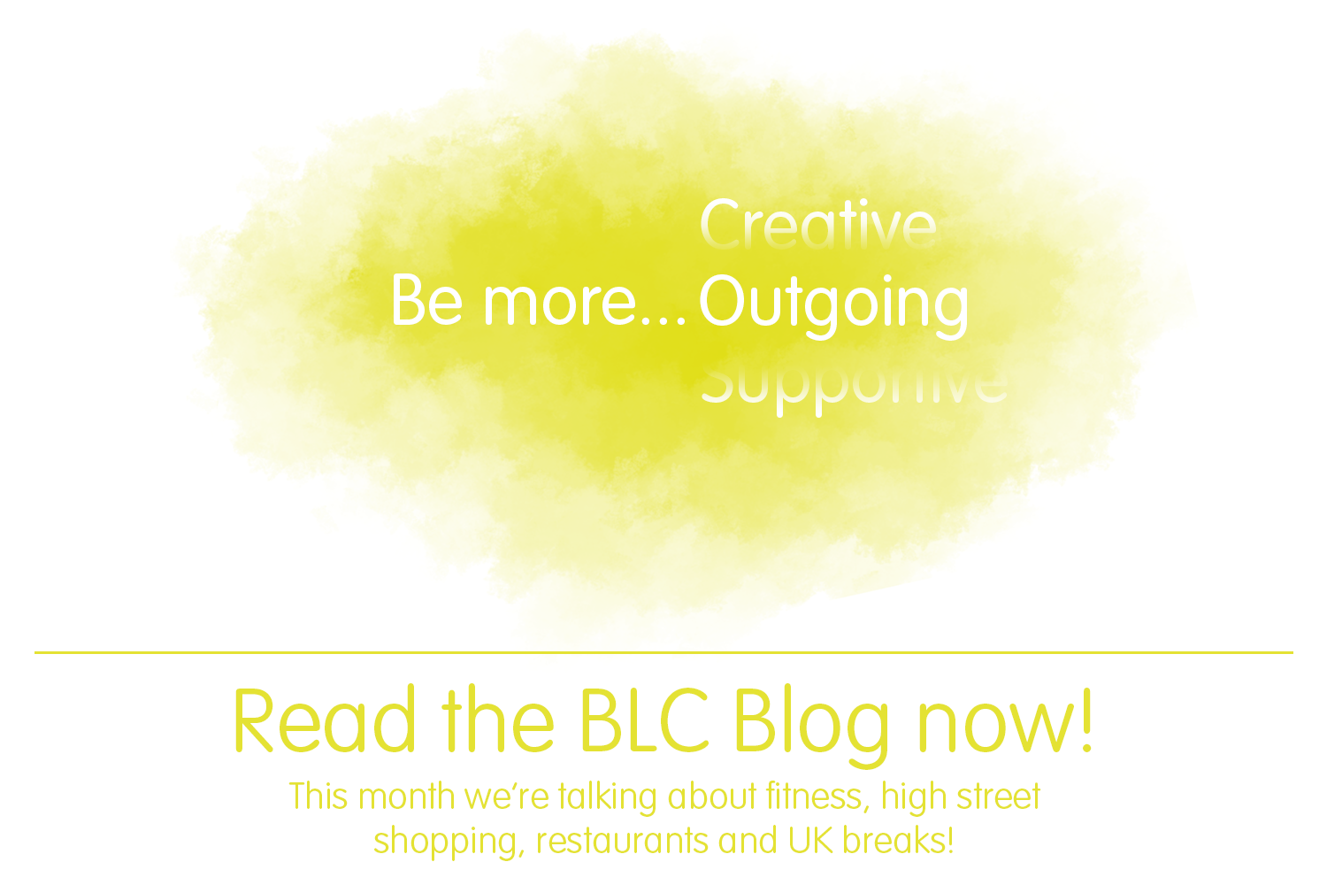 BLC Blog - Be more... Outgoing!>