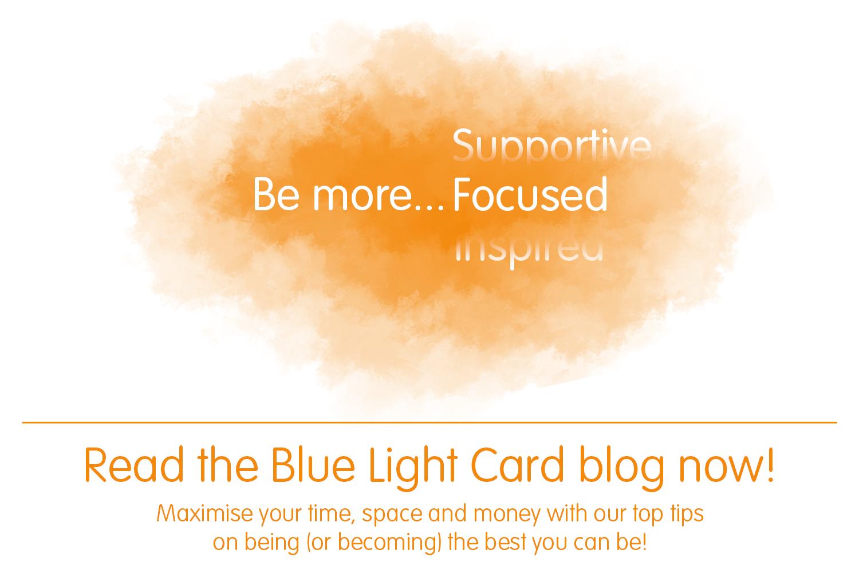 BLC Blog - Be more... focused!