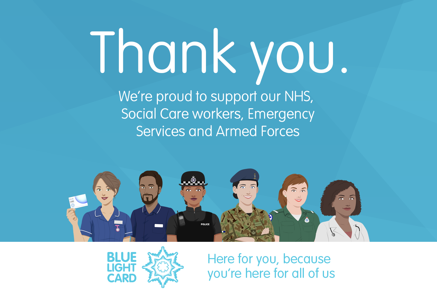 Thank You from BLC HQ