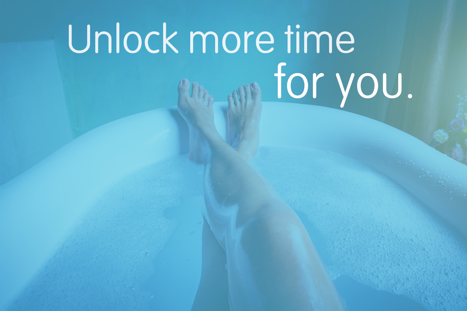 Unlock a little more time for you