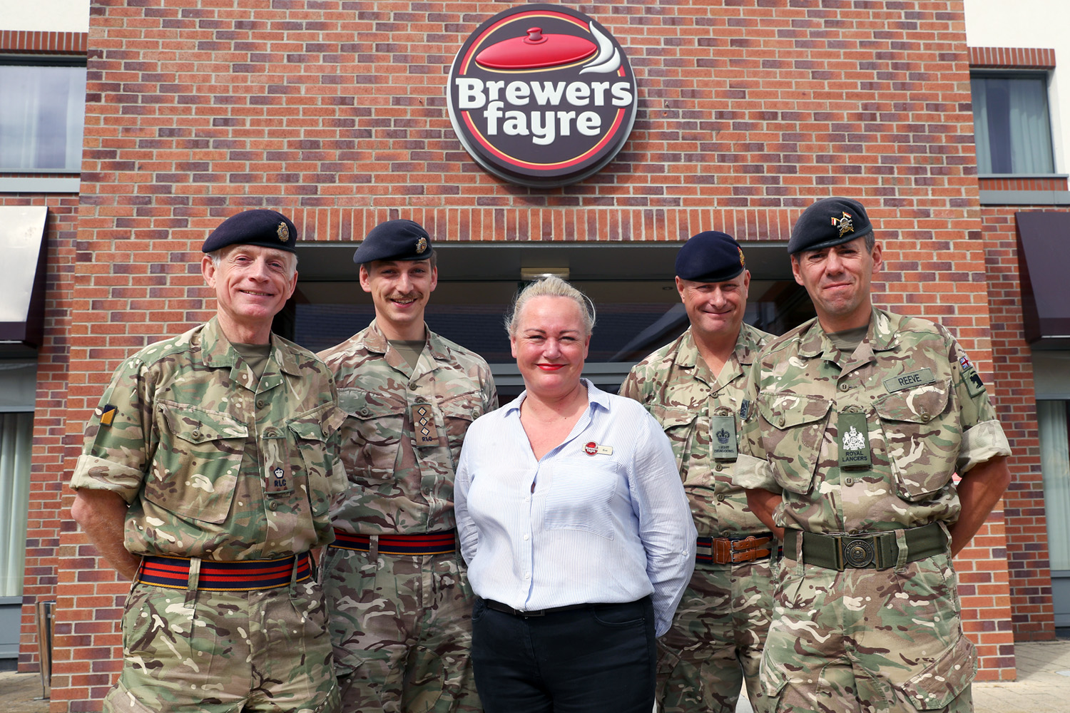 Whitbread restaurants help heroes tuck in to a hearty discount!