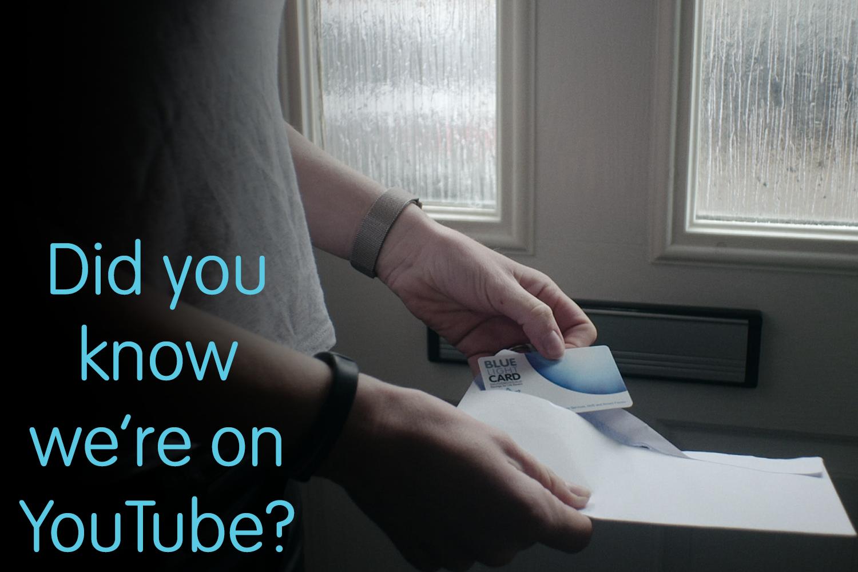 Blue Light Card on YouTube!