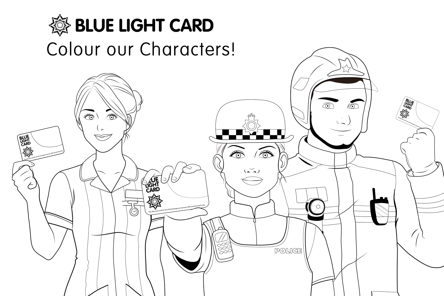 Colour our Characters!