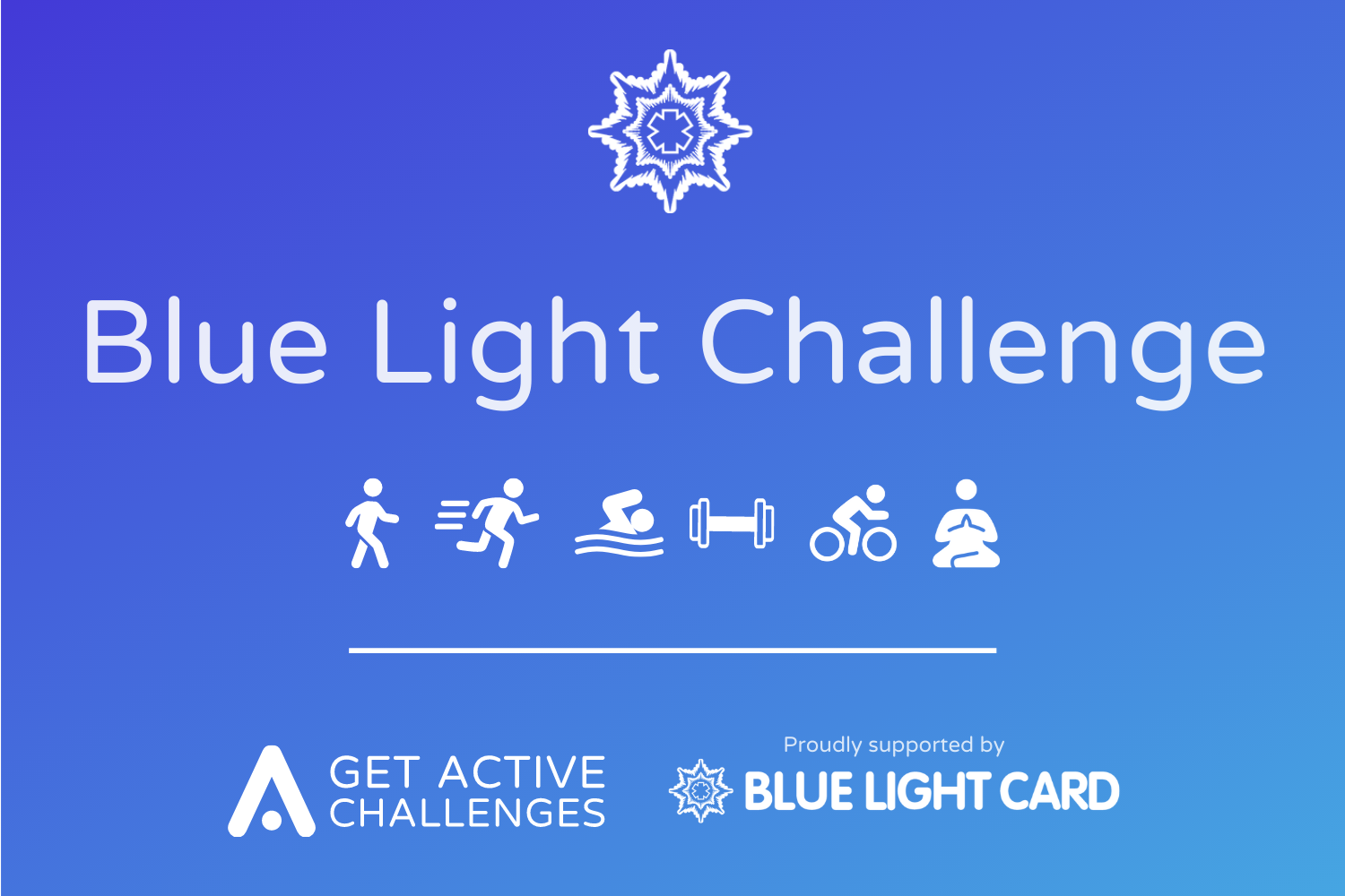 Blue Light Get Active Challenge>