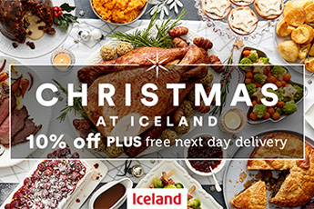 10% off at Iceland this Christmas