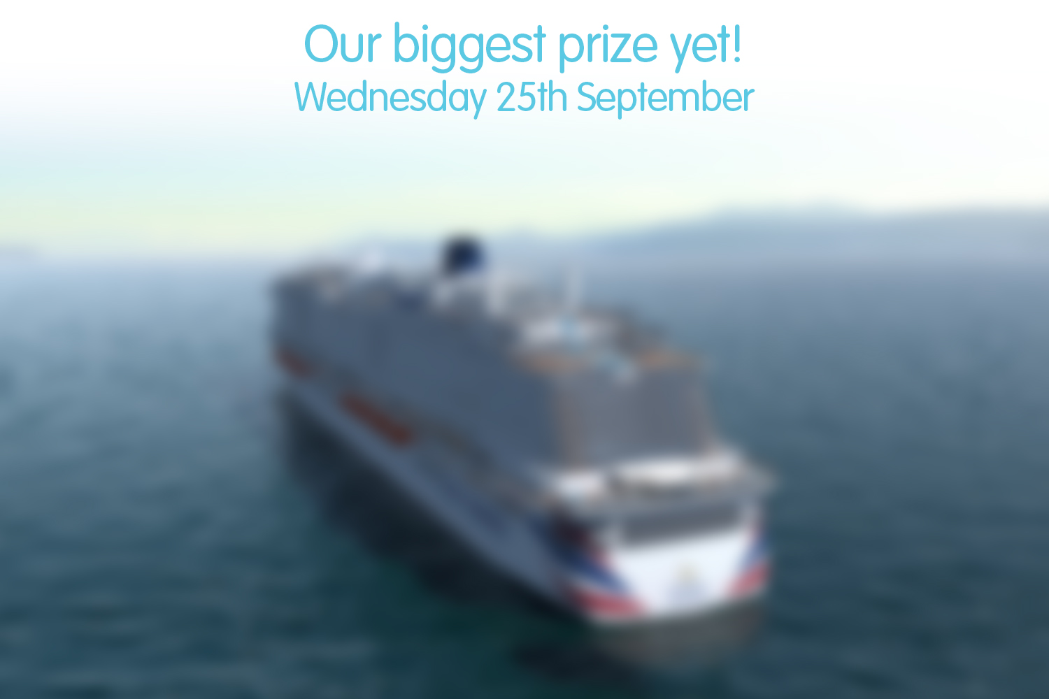 Our biggest prize yet!