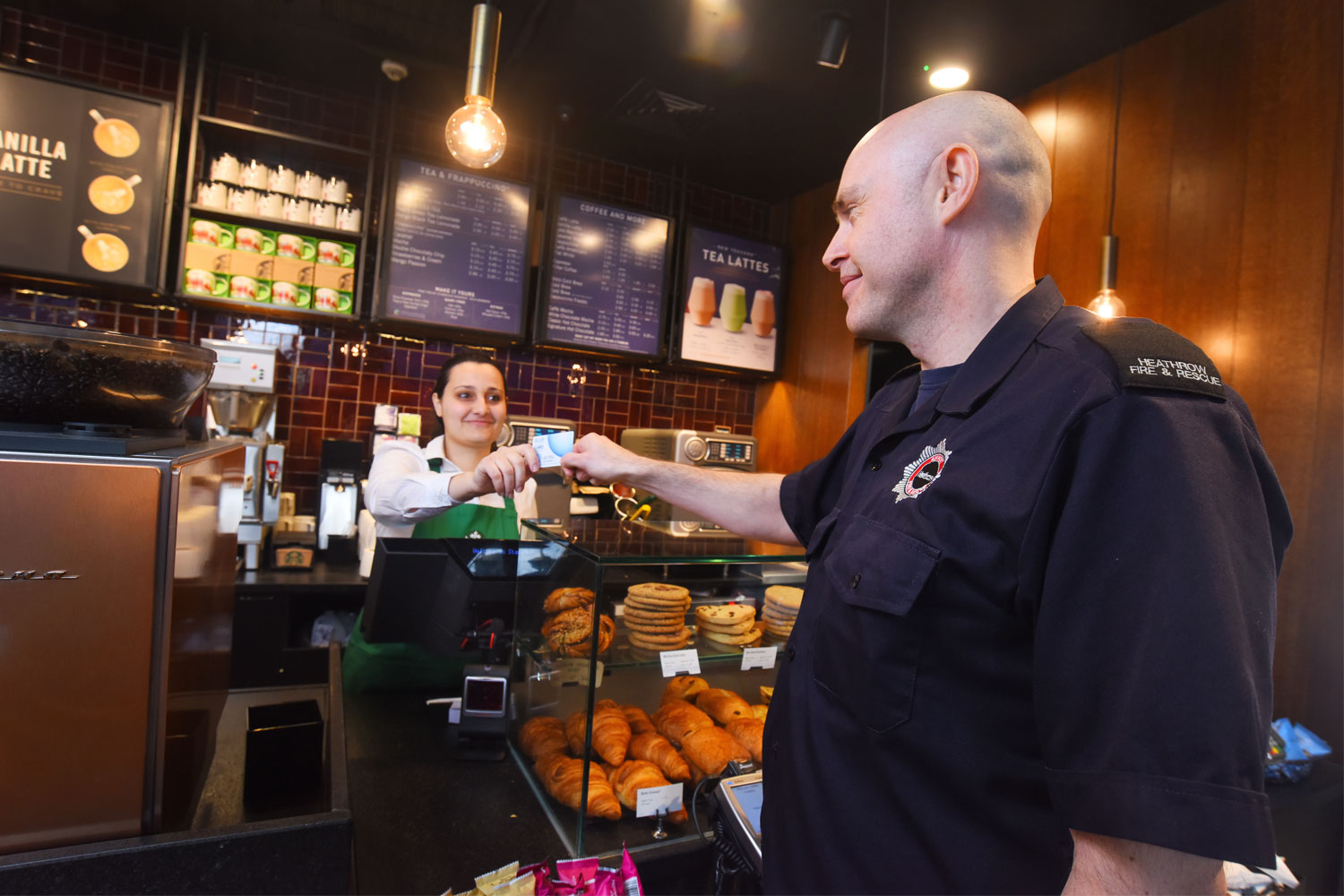 Starbucks gives back to everyday heroes with new discount programme