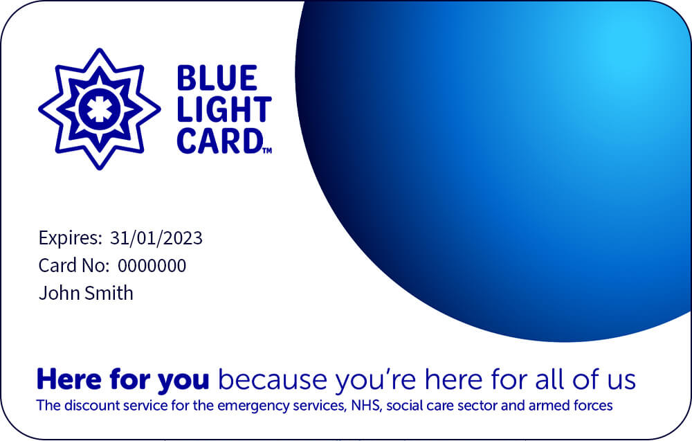 Add your business to Blue Light Card